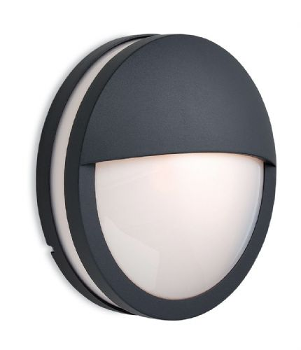 Firstlight 8356GP Graphite with Opal Diffuser Zenith Wall/Flush Fitting